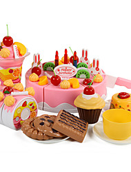 cheap -Toy Food / Play Food Cake Cake & Cookie Cutters Plastics Kid's Toy Gift 1 pcs