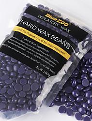 cheap -100g Purple Lavender Removal Cream Color No Strip Depilatory Hot Film Hard Wax Pellet Waxing Bikini Hair Removal Bean