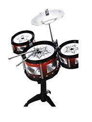 Недорогие -Барабанная установка Обучающая игрушка Музыкальные инструменты Барабанная установка Джазовый барабан моделирование ABS для Детские Девочки