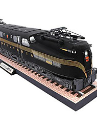 cheap -Toy Car 3D Puzzle Paper Model Train DIY Hard Card Paper Classic Train Kid's Unisex Boys' Toy Gift