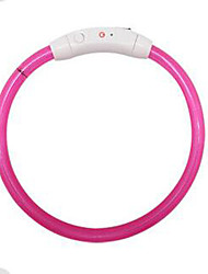 cheap -Dog Leash / DIY Supplies Reflective / Adjustable / Portable Solid Colored Plastic Dark Blue / Red / Pink