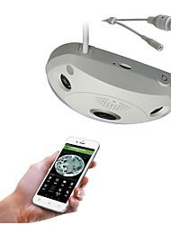 Недорогие -strongshine® 1.3mp 360degree vr панорамный fisheye инфракрасная сеть беспроводной Wi-Fi наблюдения крытый ip-камера
