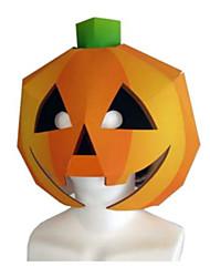 cheap -Halloween Mask Paper Craft Hard Card Paper Classic DIY Pumpkin Horror Kid's Unisex