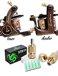cheap -Professional Tattoo Machine - Coil Tattoo Machine Professional High quality, formaldehyde free Copper Wire-cutting