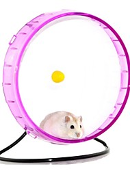 cheap -Rodents / Hamster Silicone Exercise Wheels Fuchsia / Green / Blue