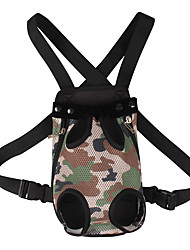 cheap -Cat Dog Carrier Bag & Travel Backpack Front Backpack Portable Adjustable / Retractable Pet Fabric Fashion Camouflage Color