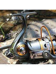 cheap -Fishing Reel Bearing Spinning Reel 5.2:1 Gear Ratio+11 Ball Bearings Hand Orientation Exchangable Sea Fishing / Freshwater Fishing / Lure Fishing - DK4000 / General Fishing / Trolling & Boat Fishing