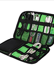 cheap -1pc Travel Organizer Travel Luggage Organizer / Packing Organizer Waterproof Case Large Capacity Portable Travel Storage for Clothes USB Cable Cell Phone Nylon 22.6*15.7*3.6 cm Travel / Durable