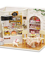 cheap -CUTE ROOM Model Building Kit DIY Furniture House Plastics Wooden Classic Unisex Girls' Toy Gift