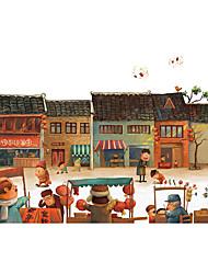 Недорогие -1000 pcs Лошадь Мультяшная тематика Пазлы Головоломка для взрослых Огромный деревянный Люди Изображение Взрослые Игрушки Подарок