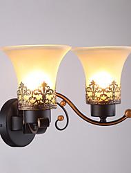 cheap -Modern Contemporary Wall Lamps & Sconces Glass Wall Light 110-120V / 220-240V 40 W / E26 / E27