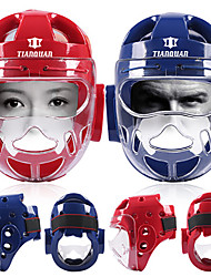 cheap -Mask For Taekwondo, Boxing Eases pain, Safety Gear Polyurethanes All Red / Blue