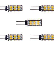 cheap -5pcs 2 W LED Bi-pin Lights 145 lm G4 26 LED Beads SMD 2835 Warm White White 12 V / 5 pcs