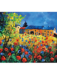 cheap -Castle Famous buildings House Flower Jigsaw Puzzle Adult Puzzle Jumbo Wooden Adults' Toy Gift