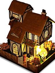 abordables -Kit de Maquette A Faire Soi-Même Meuble Maison En bois Bois Naturel Classique Unisexe Jouet Cadeau