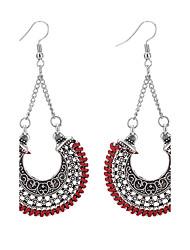 cheap -Women's Drop Earrings Chandelier Ladies Vintage Fashion Euramerican Earrings Jewelry Dark Blue / Red / Light Green For Daily