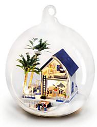 cheap -Balls Model Building Kit DIY Famous buildings House Plastics Glass Classic Unisex Toy Gift