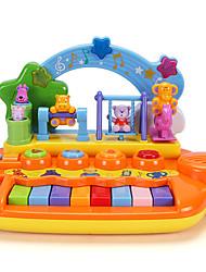 cheap -Dollhouse Accessory Educational Toy Electronic Keyboard Eco-friendly Fun Plastics For Kid's Birthday