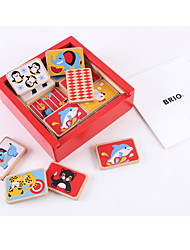 cheap -Educational Flash Cards Building Blocks Board Game Chess Game Square Domino & Tile Game Kid's Toy Gift