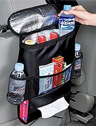 Недорогие -1 шт. Автокресло многофункциональный автомобиль обратно подушка автомобиля сумка для хранения продуктовых сумок черный