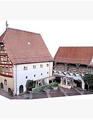 cheap -3D Puzzle Paper Craft Famous buildings DIY Hard Card Paper Kid's Unisex Boys' Toy Gift