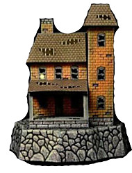 cheap -3D Puzzle Paper Model Model Building Kit House DIY Hard Card Paper Classic Kid's Unisex Boys' Toy Gift