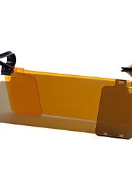 Недорогие -антибликовый солнцезащитный козырек щит автомобиля автоматический флип для водителей (двойной объектив)