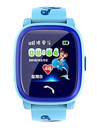 Недорогие -Муж. Смарт Часы Цифровой силиконовый Синий / Фиолетовый Цифровой Лиловый Синий
