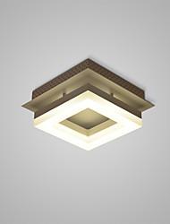 abordables -encastré géométrique lumières lumière ambiante autres métal led 110-120v / 220-240v blanc chaud / blanc