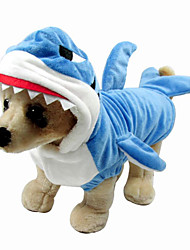 cheap -Dog Costume Dog Clothes Animal Down Cotton Costume For Spring &  Fall Winter Men's Women's Halloween