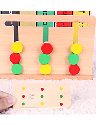 cheap -Educational Flash Cards Montessori Teaching Tool Logic & Puzzle Toys Maze Educational Toy Education Cool Kid's Toy Gift