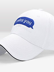 cheap -Running Cap Unisex Comfortable Sun Protection for Casual Simple Solid Colored Cotton
