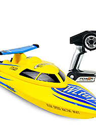 cheap -RC Boat WLtoys WL911 Speedboat / Remote Control Boat / Ship Model ABS 4 pcs Channels 24 km/h KM/H RTF