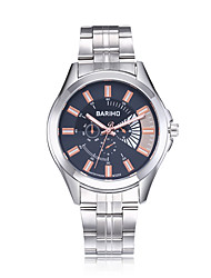 cheap -jewelora Men's Wrist watch Dress Watch Fashion Watch Chinese Quartz Water Resistant / Water Proof Large Dial Shock Resistant Stainless