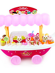 cheap -Ice Cream Cart Toy Toy Car Toy Food / Play Food Ship Ice Cream Simulation Plastics Plastic Kid's Toy Gift 1 pcs