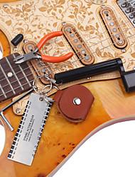cheap -5pcs Guitar Accessories Kit Tool Set Setup String Winder Bridge Pin Peg Puller String Action Gauge Ruler Measuring Luthier