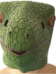 cheap -Halloween Mask Animal Mask Glue Dinosaur Lizard Horror Kid's Unisex
