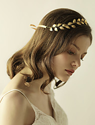 cheap -Alloy Headbands with 1 Wedding / Special Occasion / Anniversary Headpiece