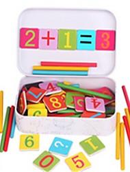 Недорогие -Головоломки судоку Игрушки для обучения математике Обучающая игрушка Экологичные деревянный Дерево Универсальные Детские Подарок