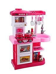Недорогие -Игрушка кухонные наборы Игрушечная еда Детская техника Кулинария моделирование Пластик Детские Игрушки Подарок