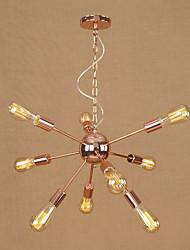 cheap -9-Light Pendant Light Ambient Light Electroplated Metal 110-120V / 220-240V Bulb Not Included / E26 / E27