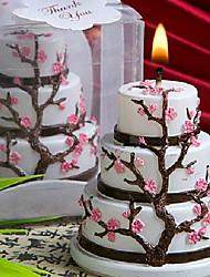 Недорогие -Свечи Цветочные/ботанический Декор для дома,
