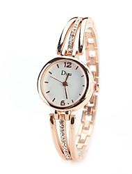 cheap -Women's Wrist Watch Simulated Diamond Watch Diamond Watch Quartz Silver / Gold Imitation Diamond Analog Ladies Vintage Casual Fashion Elegant - Gold Silver Gold / Silver One Year Battery Life