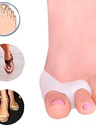 cheap -1Pair Nice for Big Toe Separator Hallux Valgus Bunion Corrector Orthotics Pedicure Feet Bone Thumb Adjuster Correction