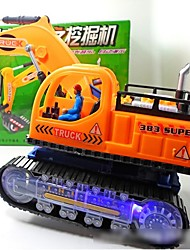 cheap -Toy Car LED Lighting Educational Toy Electric Musical Instruments Excavating Machinery with Screen Kid's Boys' Girls' Toy Gift