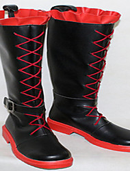 cheap -Cosplay Shoes Cosplay Boots RWBY Cosplay Anime Cosplay Shoes PU Leather PU Leather/Polyurethane Leather Adults' Unisex