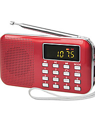 cheap -Y-896 FM / AM Portable Radio MP3 Player TF Card World Receiver White / Black / Red