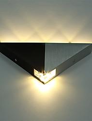 abordables -aluminium moderne triangle 5w led applique murale luminaire couloir intérieur vers le bas lampe spot spot