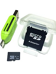 cheap -Ants 4GB Micro SD Card TF Card memory card Class6 AntW2-4