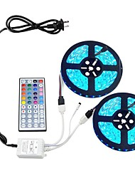 cheap -LED Strip Light Kit RGB Tiktok Lights 10M 5050 600LEDs 10mm DC 12V Not-Waterproof with 44Key Remote Controller and Power Adapter 12V 6A for Home,Kitchen,Bedroom,Cabinet,Backlight and More